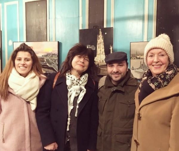 بذور للتنمية تلتقي بمجموعة التضامن مع الشعب الفلسطيني في بوردو