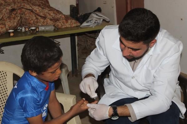 """تنظيم مبادرة """"يوم طبي مجاني"""" في بدو العوجا"""