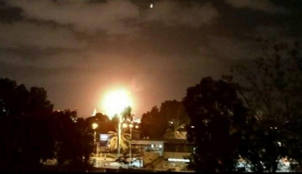فيديو: حريق كبير في مصافي النفط في حيفا