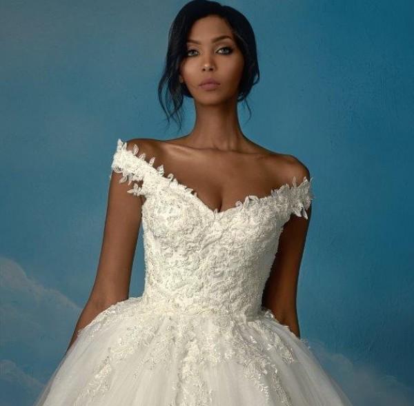 b8da23f9d صور: إن كنتِ طفولية.. اليك أجمل موديلات فساتين الزفاف | دنيا الوطن