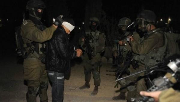 الاحتلال يعتقل ثلاثة شبان شمال سلفيت