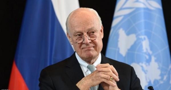 دي ميستورا: جنيف الطريق الوحيد لصياغة الدستور السوري الجديد