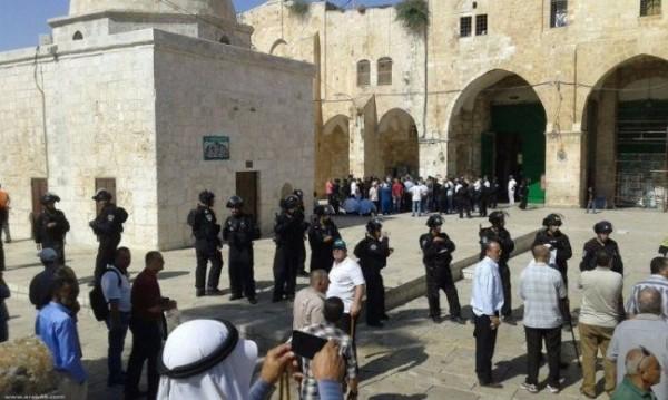 86 مستوطناً يقتحمون المسجد الأقصى بحراسة مشددة