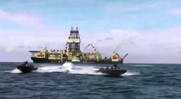 فيديو: هكذا يؤمن الجيش المصري حقل الغاز بالبحر المتوسط