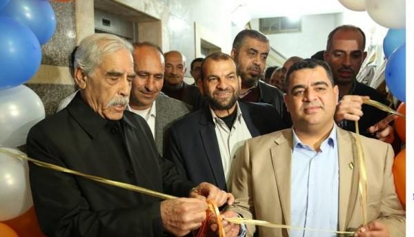 مؤسسة أمواج الرياضية تحتفل بافتتاح مقرها الجديد في غزة