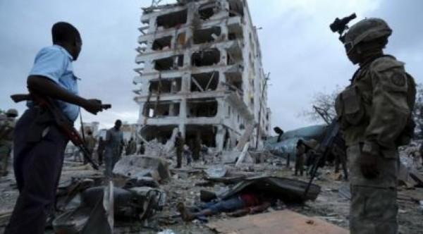 مصرع 18 صومالياً في تفجيرين منفصلين بمقديشو
