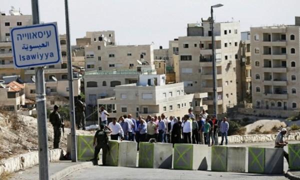 اسرائيل تشرع ببناء معبر جديد في قرية العيساوية بالقدس