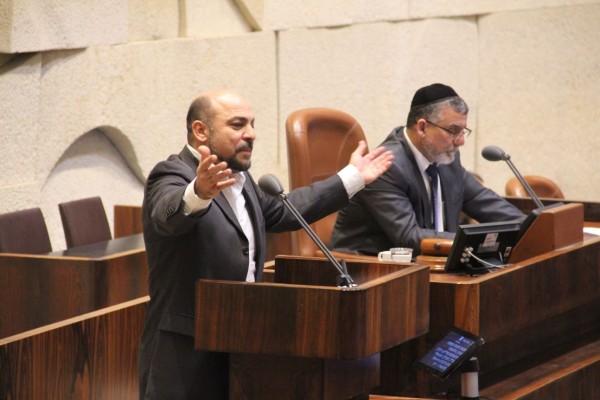 النائب مسعود غنايم يستجوب وزير الطاقة والبنى التحتية
