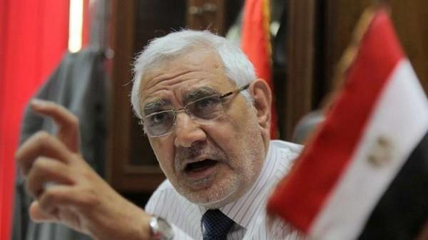 """النيابة المصرية تجدد حبس """"أبو الفتوح"""" 15 يومًا احتياطيًا"""