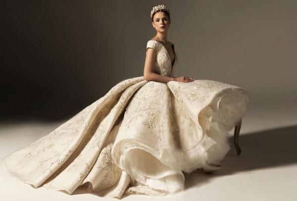 صور: فساتين زفاف فخمة من كريكور جابوتيان