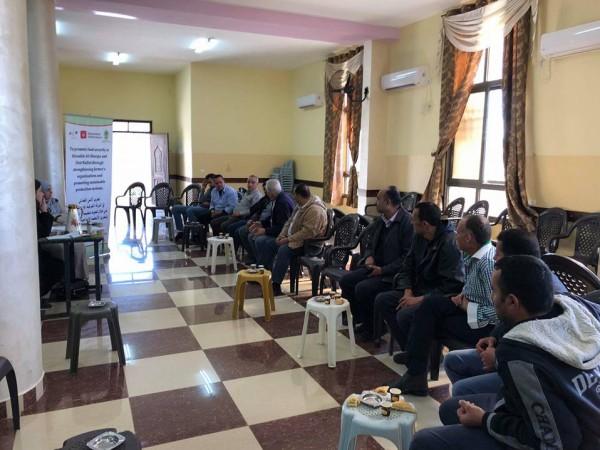 اتحاد جمعيات المزارعين يعقد ورشة ضمن مشروع تعزيز الامن الغذائي