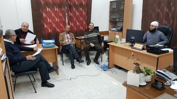 التقنيات التربوية في قلقيلية يعقد اجتماعا لتفعيل استخدام التكنولوجيا بالمدارس