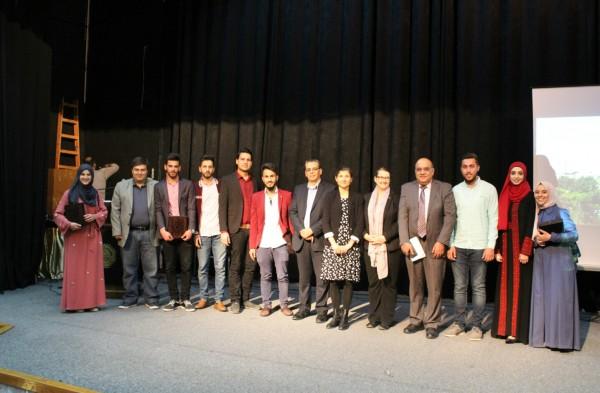 جامعة القدس تكرّم طلبتها المتفوقين في برنامج الدراسات الثنائية