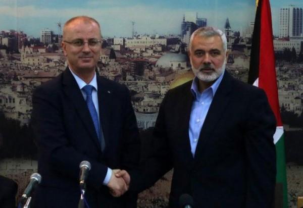 حماس تنفي إجراء هنية اتصالاً هاتفياً بالحمد الله بعد استهداف موكبه بغزة