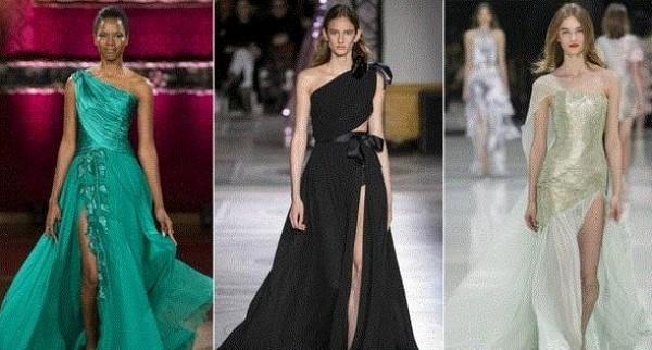 صور: موديلات فساتين رائجة خلال أسابيع الموضة للهوت كوتور