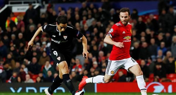 فيديو: إشبيلية يقصي مانشستر يونايتد ويصل ربع النهائي
