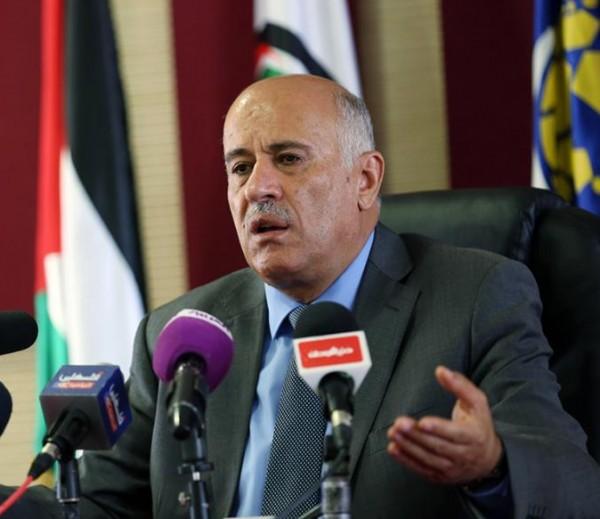 """الرجوب: إذا كانت حماس """"بريئة"""" من محاولة اغتيال الحمد الله فلتقدم استنتاجاتها"""