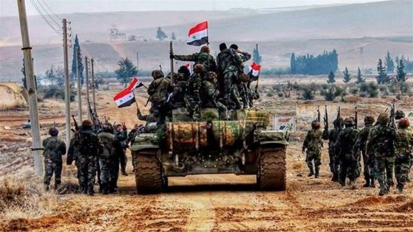 الجيش السوري يسيطر بشكل كامل على مدينة في الغوطة