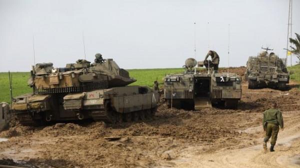 الاحتلال يُخطط لنشر أرتال من الدبابات قُرب السياج الفاصل مع غزة