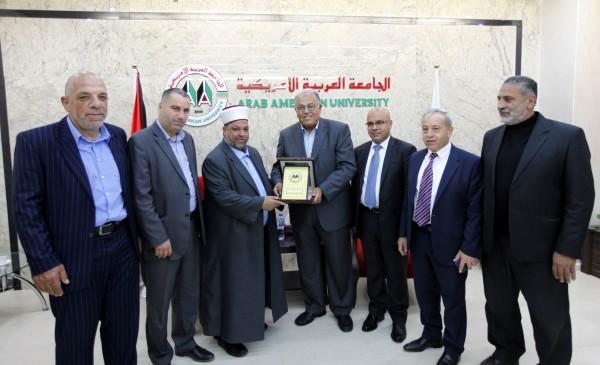 """الأوقاف والجامعة العربية الامريكية تكرمان 240 مشاركا في مسابقة """"غراس القرآن"""""""