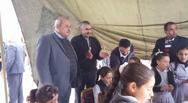 الشيوخي: تدمير مدرسة زنوتا الليلة الماضية يظهر نازية وفاشية الاحتلال