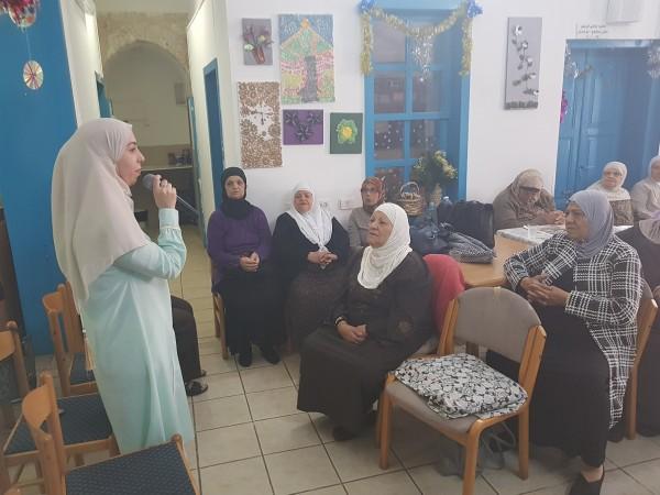 """""""المينا العكّي"""" يحتفل مع مركز المسنين العرب بذكرى الاسراء والمعراج"""