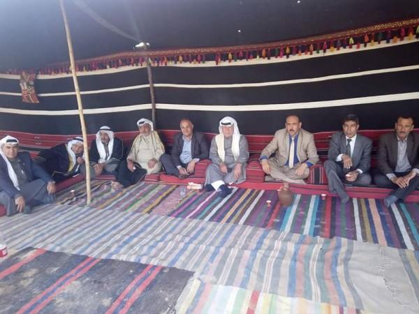 العشائر تقيم ديوان العودة على الخط الفاصل شرقي مدينة غزه