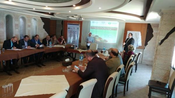 ورشة عمل حول تحليل أسواق الخضار المركزية في قطاع غزة