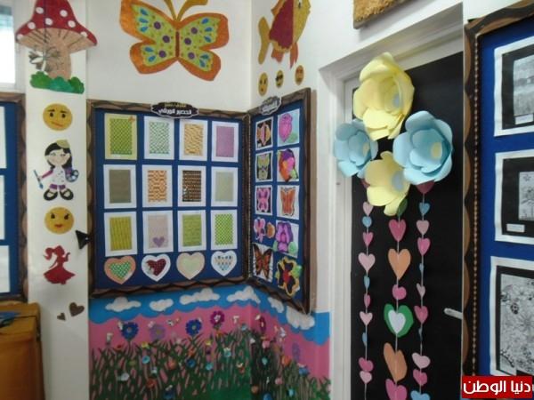 افتتاح (أنامل  ناعمة) أضخم معرض فني بأيدي طالبات خانيونس