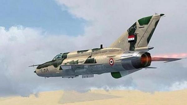 سلاح الجو العراقي يَشُن غارات على مواقع لتنظيم الدولة بسوريا