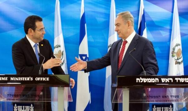 """ذكرى يوم النكبة مناسبة لاحتفال غواتيمالا بـ """"عيد الصداقة مع إسرائيل"""""""