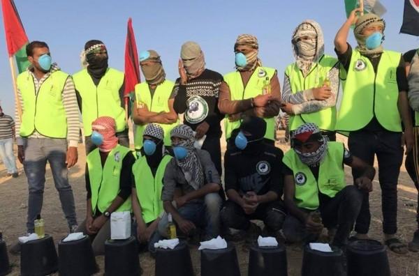 """""""وحدة مكافحة الغاز"""" تستعد لمواجهة غاز الاحتلال السام"""