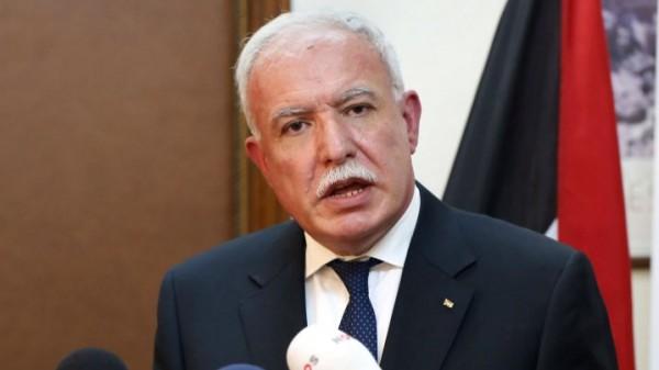 المالكي: قرار الاتحاد الاوروبي بإدانة الاحتلال يؤكد التزامه بحل الدولتين