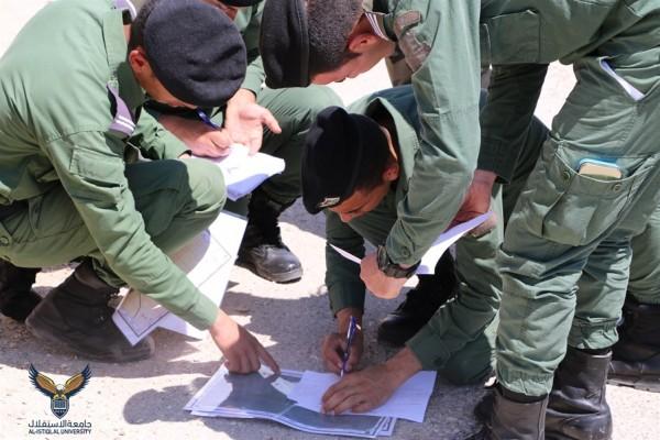 جامعة الاستقلال تجري تمرين الطبوغرافيا العسكرية والإستطلاع