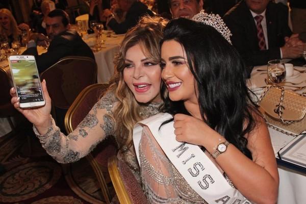 صور ملكة جمال المغرب رشا السباعي في بيروت دنيا الوطن