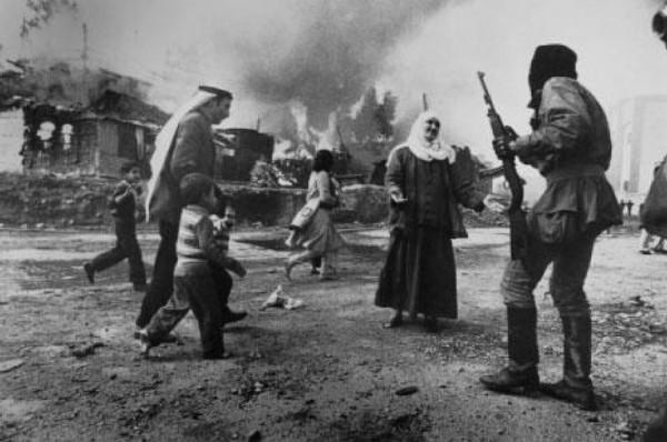 عام 1974.. بدء القصف الإسرائيلي للمخيمات الفلسطينية في لبنان