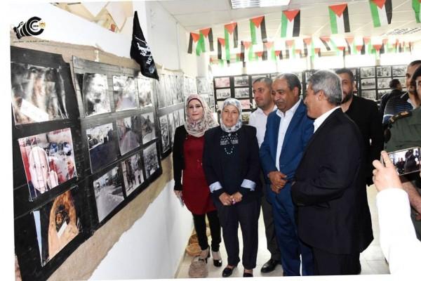 سلفيت: افتتاح معرض صور ورسومات وتراثيات عن النكبة