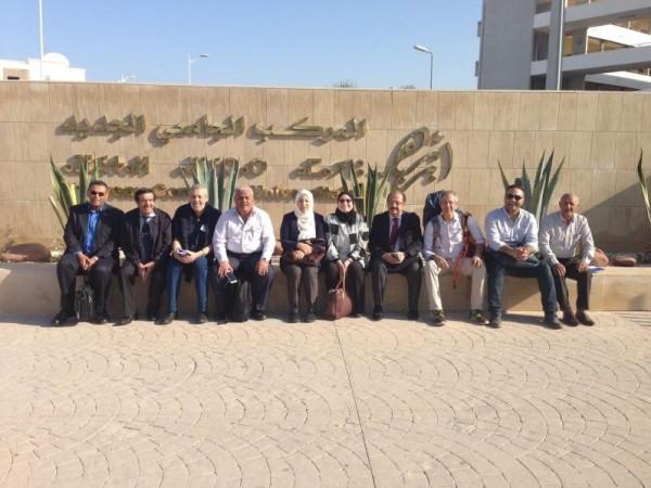 وفد من جامعة النجاح الوطنية يُشارك باللقاء الرابع لمشروع (OpenMed) في المغرب