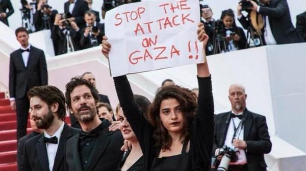 """ممثلة لبنانية حملت هموم """"غزة"""" إلى مهرجان كان السينمائي"""