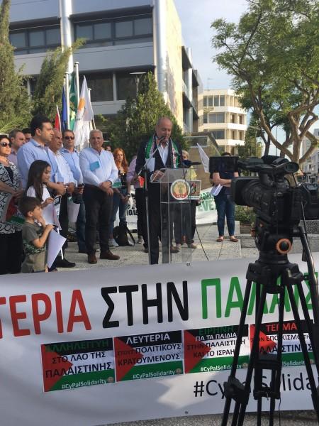 سفارة دولة فلسطين في نيقوسيا تحيي ذكرى يوم النكبة