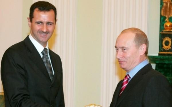 بوتين والأسد يلتقيان في سوتشي ويبحثان تسوية الأزمة السورية