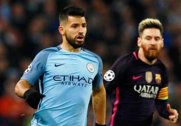 أغويرو: لن ألعب إلى جانب ميسي