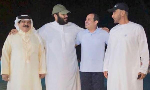 أقطاب الأزمة الخليجية اجتمعوا قبل أيام بضيافة السيسي