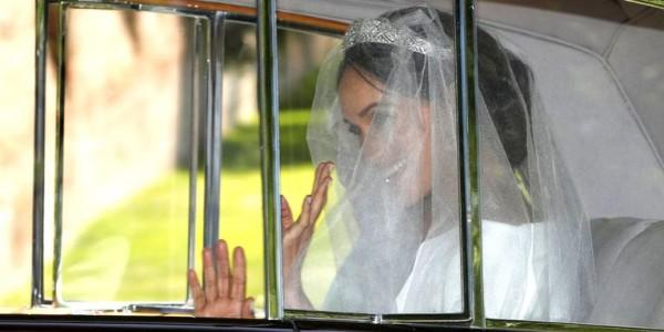 بدء مراسم حفل زفاف الأمير هاري والممثلة الأمريكية ميغان ماركل
