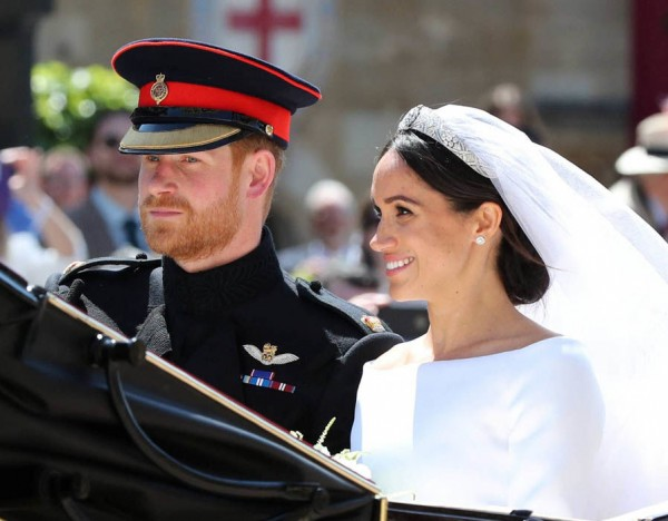 بالصور: ضيف مصري مهم لم يلفت الأنظار في زفاف هاري وماركل