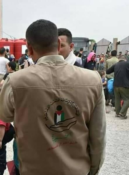 الهيئة الخيرية لإغاثة الشعب الفلسطيني تنفذ مشروع حليب الأطفال