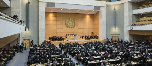الجمعية العامة لمنظمة الصحة العالمية تُصوت على قرار لصالح فلسطين