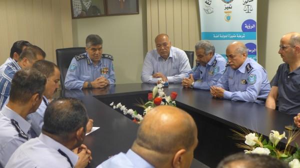 عطا الله: نفخر بقُربنا من شعبنا ونعمل على تطوير القيمة الانتاجية للشرطة
