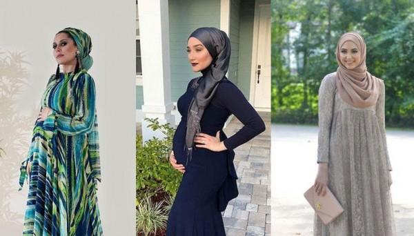 8fa9ee4aaeedf ملابس محجبات حوامل  أجمل موديلات الفساتين من انستقرام