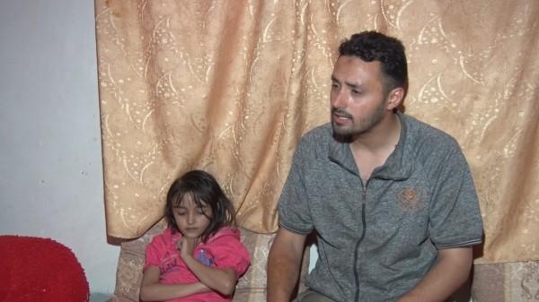 فيديو: أبو عمشة يناشد الرئيس عباس ووزير الصحة لعلاج طفلته